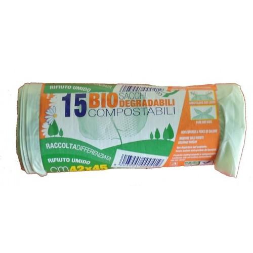 15 SACCHI PER UMIDO 42x45 -...
