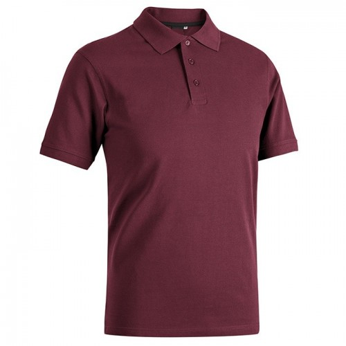 POLO UNISEX BORDEAUX