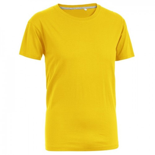 T-SHIRT FIT GIALLO