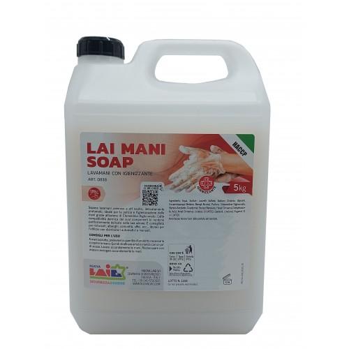 LAI MANI SOAP con igienizzante
