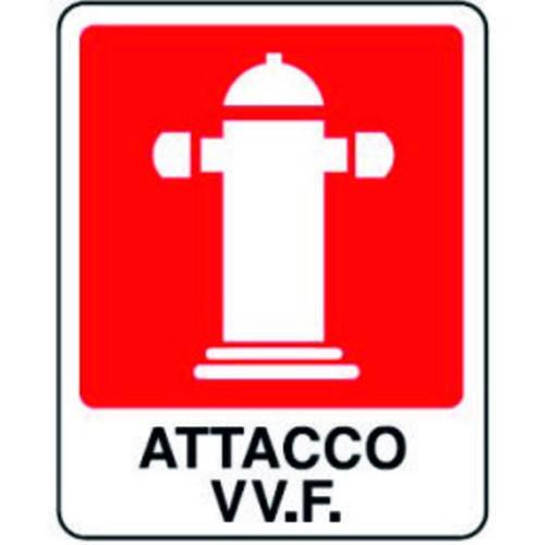 CARTELLO ATTACCO V.V.F.