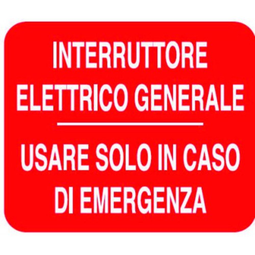 CARTELLO INTERRUTTORE...