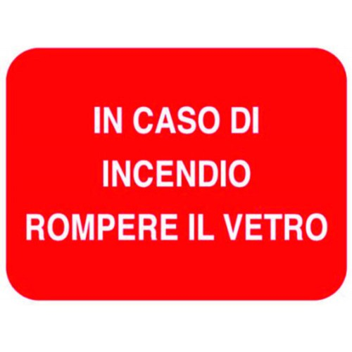 CARTELLO IN CASO DI...