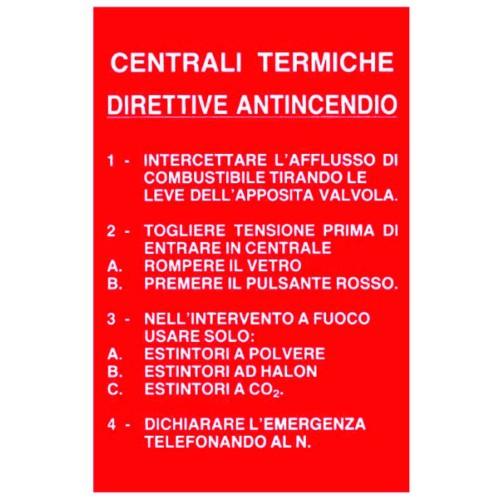 CARTELLO CENTRALI TERMICHE...