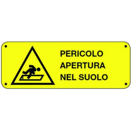 CARTELLO PERICOLO APERTURA...