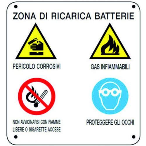 CARTELLO ZONA DI RICARICA...