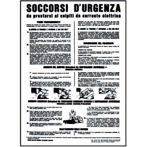 CARTELLO SOCCORSI D URGENZA