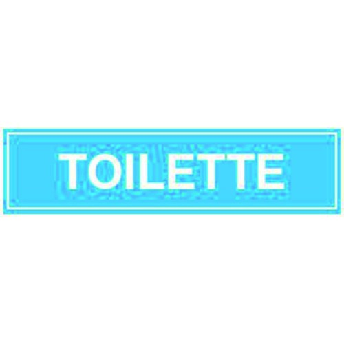 CARTELLO TOILETTE