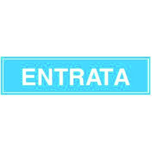 CARTELLO ENTRATA