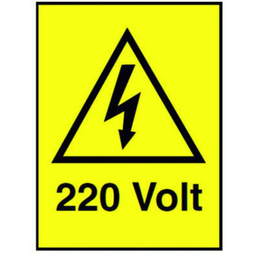 ETICHETTE 220 VOLT