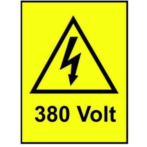 ETICHETTE 380 VOLT