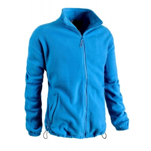 PILE ZIP LUNGA BLU ROYAL